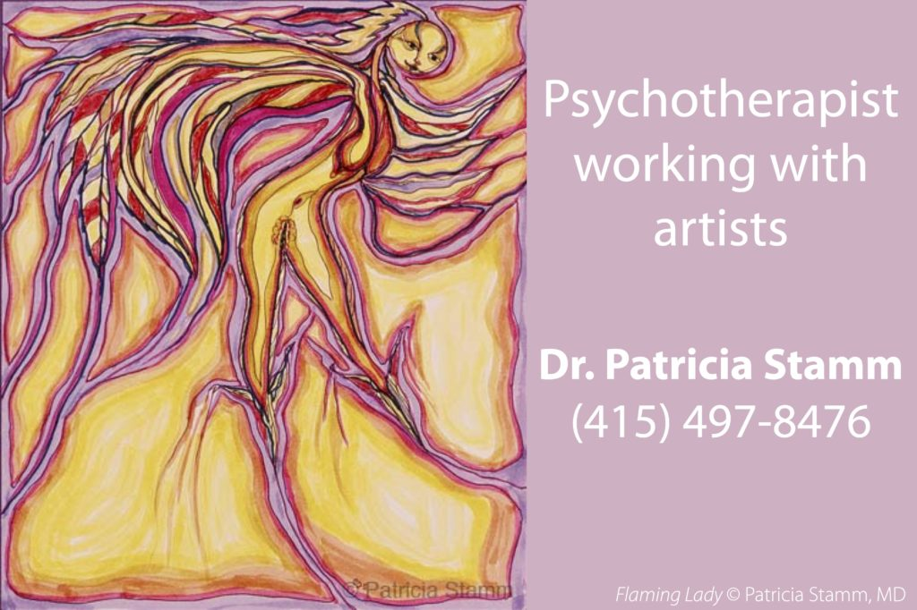 Flaming Lady Psychotherapist Artists