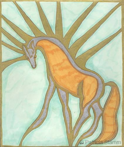 Spirit Horse by Patricia Stamm